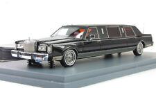 Lincoln Towncar Limousine 1985 Black Neo 1:43 NEO45335