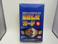 Japan PRO Wrestling Card BOX BBM 1996 Abdullah NJPW AJPW WWE WWF