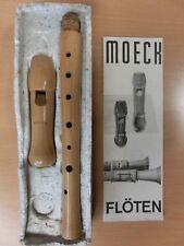 MOECK Flöte Blockflöte A70 / 1234 von 1970 gut erhalten in Originalverpackung