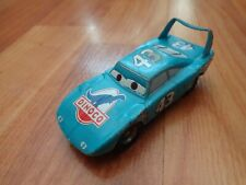 OFFICIAL DISNEY PIXAR CARS - DINOCO THE KING '43 PLYMOUTH SUPERBIRD PLASTIC CAR