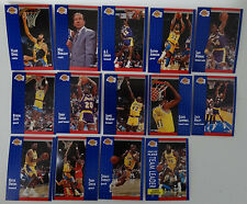 1991-92 Fleer Los Angeles Lakers Team Set Of 14 Basketball Cards