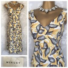 Minuet DRESS SIZE 14 Silk Holiday Cruise Wedding Mother Of The Bride