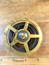 Old Ingraham 8 Day Clock Movement Mainspring, Gear and Arbor (Lot K1708)