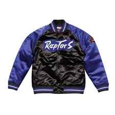 Authentic Toronto Raptors Mitchell & Ness NBA Tough Season Satin Jacket