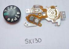 Canon SX130 Top Operation unit Zoom / Power / Shutter PCB