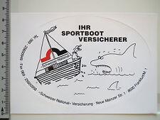 Aufkleber Sticker Schweizer National - Sportboot - Versicherungen - Boote (2252)