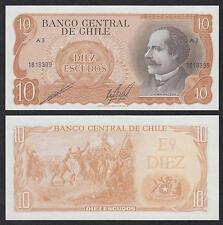 Chile   10 Pesos  ND   Pick 143(2)   SC = UNC