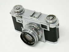 Zeiss Contax IIa Camera + Zeiss-Opton 1:2 50mm Sonnar Lens – Made in Germany
