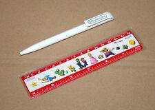 2015 Nintendo Promo Ruler & Ball Pen Mario Yoshi Wario Luigi 3DS Wii U