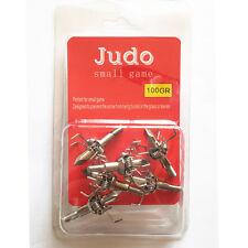 JUDO 12PK 100 Grain Broadheads Archery Hunting Pointy Arrowheads for Small Game