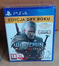 Wiedzmin Dziki Gon Witcher Wild Hunt 3 III +16DLC Polnisch PS4 BOX NEU GOTY OVP