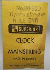 CLOCK MAINSPRING Vigor CML-190.5 in original package