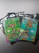 1 Booster Dragon Ball Super Film Broly Pack FR 2 Cartes dbs broly gogeta