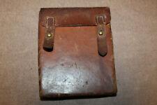 Rare Original WW2 German Luftschutz Air Defense Brown Leather Medic's Case