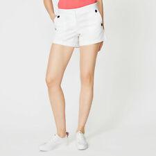"Nautica Womens 4"" Stretch Twill Sailor Shorts"