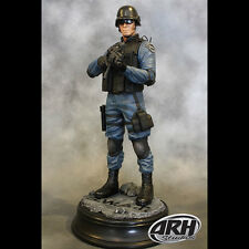 ARH SWAT Officer Statue Blue Uniform Sixth Scale Statue 1:6 Figure NEW IN STOCK