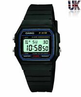 NEW GENUINE ORIGINAL CASIO F-91W ALARM CHRONOGRAPH CLASSIC DIGITAL RETRO WATCH