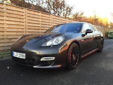 Porsche Panamera Turbo Porta Cofano Paraurti Seggiolini in pelle Volante Faro
