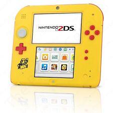 Nintendo 2Ds Super Mario Maker Edition w/ Super Mario Maker Yellow Game Console