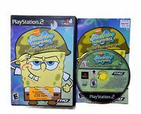 Playstation 2 - SpongeBob SquarePants: Battle for Bikini Bottom PS2 CIB-NTSC-U/C