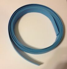 3/8 inch ID / 9mm NTE BLUE 2:1 Ratio Heat Shrink tubing - 9' section 3 Meters