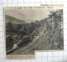 1937 Tideswell Dale Gifted To NT By Alderman J G Graves Of Sheffield