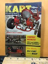 Kart Magazine Nov 1960-Rupp-Dart-MAC10-National Kart Races-Go-Kart-Bug-Lancer
