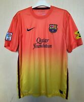 FC BARCELONA 20122013 AWAY NIKE FOOTBALL SHIRT JERSEY CAMISETA SOCCER MAGLIA