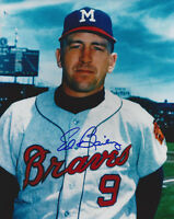1964 BRAVES Ed Bailey signed 8x10 photo AUTO Autographed Milwaukee (D)