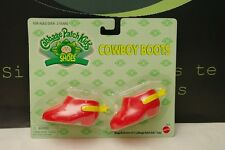 Cabbage Patch Kids Original NIB Cowboy Boots Red Shoes