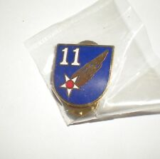 WWII USAAF 11TH AIR FORCE PIN - CURRENT PRODUCTION - GREAT FOR CAPS/JACKETS!