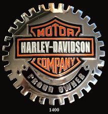 CAR  GRILLE  EMBLEM BADGES - HARLEY DAVIDSON