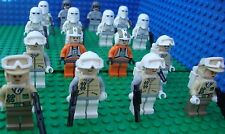 Lego Star Wars Hoth Battle Snow Rebel Troopers Army minifigs NEW!