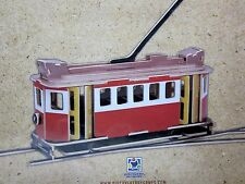 TROLLY WOODKIT wooden Model NEW toy kit train craft 3D puzzle OG Noodle IQ