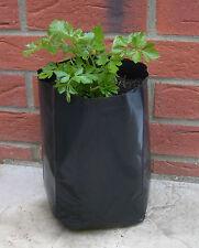 5x Pflanzsack, 5 Liter Ltr. 5l Tomate Paprika Gurken Bohnen Erdbeeren Pflanztopf