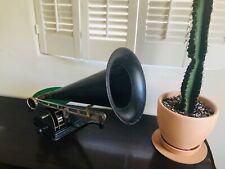 Antique Standard Talking Machine Model AA Phonograph & Records - Gramophone