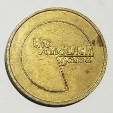 """""""The Sandwich Game"""" Token / Coin"""