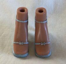 Bratz Doll Clothes / Shoes - Light Blue Strap Heels Dress Shoes