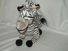 "MADAGASCAR Large 17"" x 15"" MARTY the ZEBRA stuffed toy Dreamworks 2005 EUC"