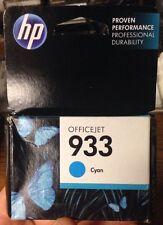 Genuine HP 933 Cyan Cn058an Exp June 2016 - Fresh!
