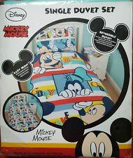 DISNEY Mickey Mouse PIPPO Set Copripiumino singolo double face * NUOVO *