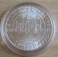 São Tomé & Príncipe 50 Escudos 1970 500 Jahre Entdeckung Silber