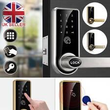 Smart Lock Code Door Keypad Card Intelligent Digital Keyless Security + 6 Tags
