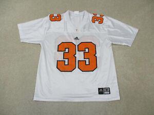 Adidas Tennessee Volunteers Football Jersey Adult Medium White Orange Mens