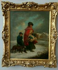 George Morland 1763 - 1804 Original Oil on Canvas