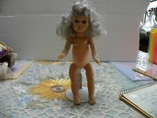 """TINY TWINKLE DOLL7 1/2""""  POINTED TOES . NO CLOTHES BY VIRGA 1957"""