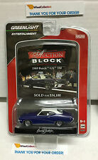 Greenlight * 1969 Buick GS 350 * BLUE * Auction Block * W15