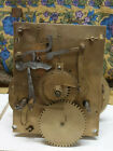 8 DAY LONGCASE/GRANDFATHER CLOCK MOVEMENT WITH DATE WORK,NO RESERVE!