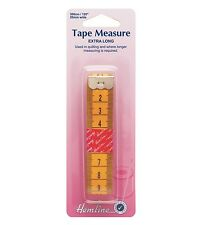 HEMLINE Haberdashery EXTRA LONG TAPE MEASURE 300cm - Useful for Quilting -  H256