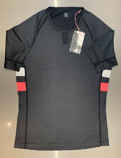 Rapha Brevet Base Layer Short Sleeve Black Size Small Brand New With Tag
